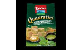 Loacker Matcha Quadratini wafers