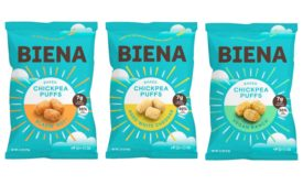 Biena Snacks chickpea puffs