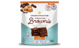 Crunchmaster Brownie Thins in Salted Caramel