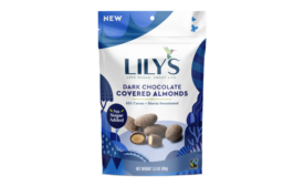 Lilys dark chocolate covered almonds