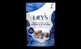 Lilys dark chocolate covered almonds