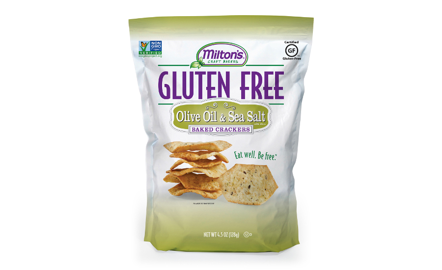 Miltons gluten free crackers new flavors