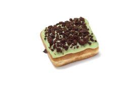 Dunkin Mint Brownie Donut