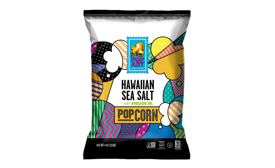 Pop Art Snacks gourmet popcorn