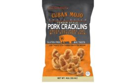 Southern Recipe Small Batch pork rinds and cracklins