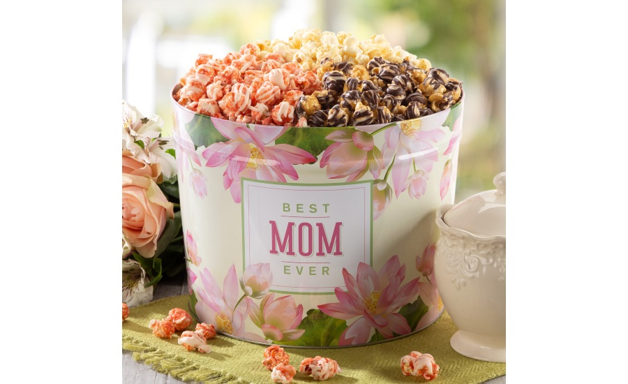 Popcornopolis Mothers Day tins