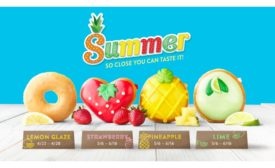 Tastes of Summer Arrive at KRISPY KREME® with Return of Lemon Glaze and New Fruit-Inspired Collection