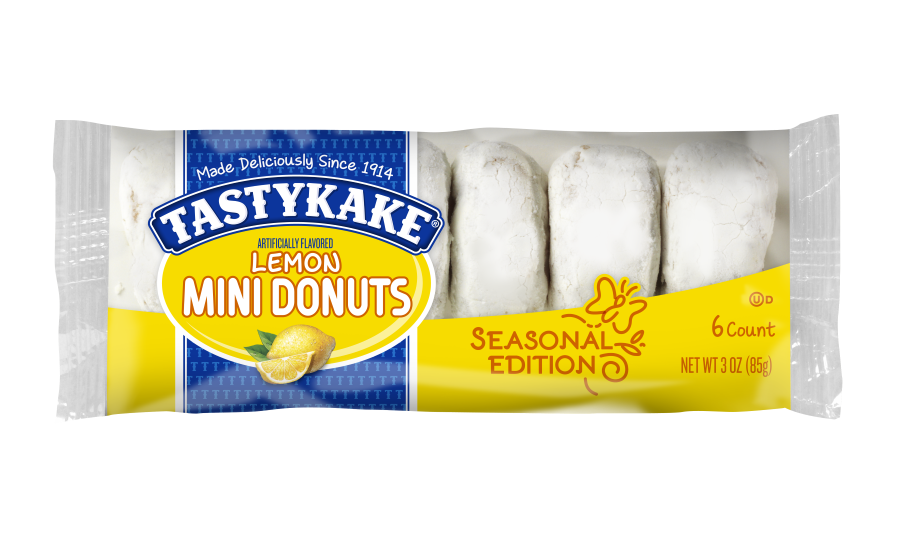 Tastykake seasonal spring snacks