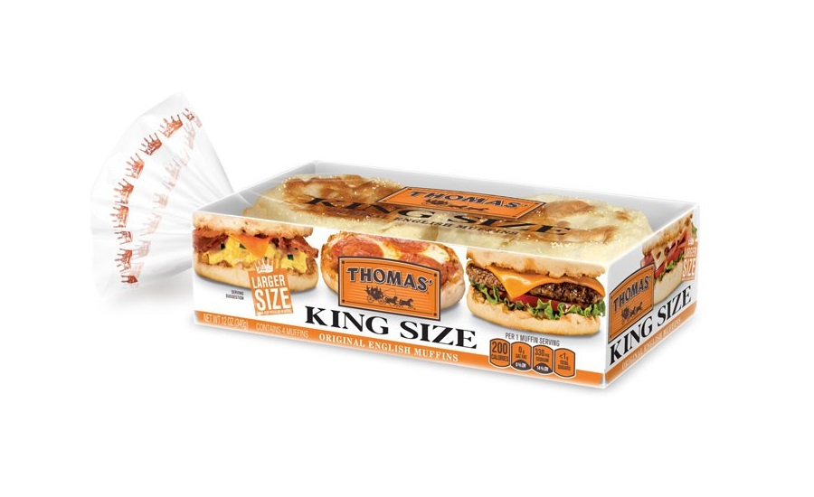 Thomas King Size English Muffins