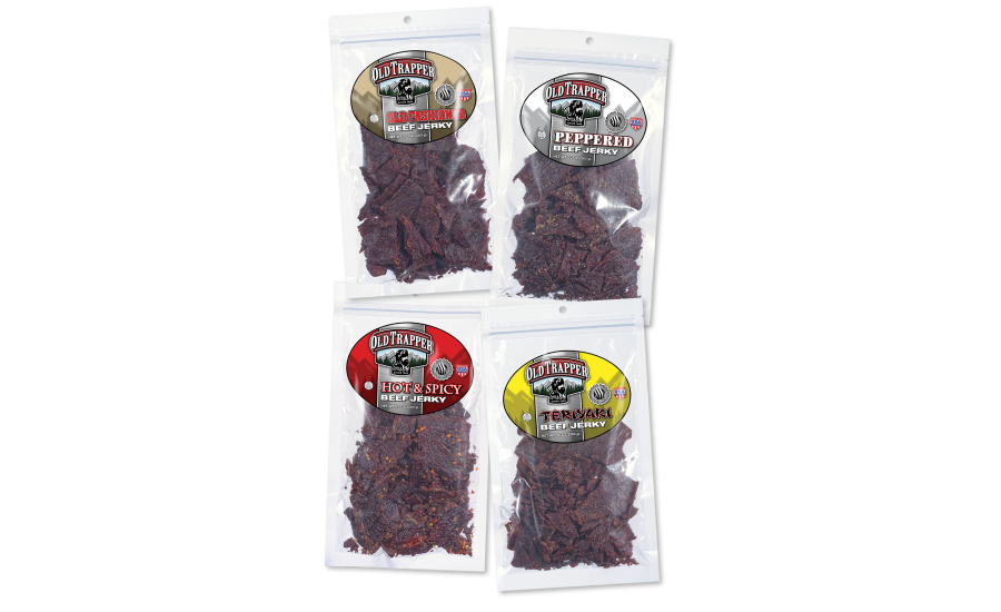 Old Trapper Smoked Products beef jerky