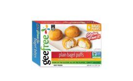 Geefree gluten-free bagel puffs