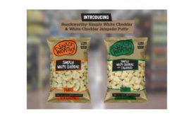 SNACKWORTHY BRAND INTRODUCES SIMPLY WHITE CHEDDAR PUFFS & WHITE CHEDDAR PUFFS WITH JALAPENO