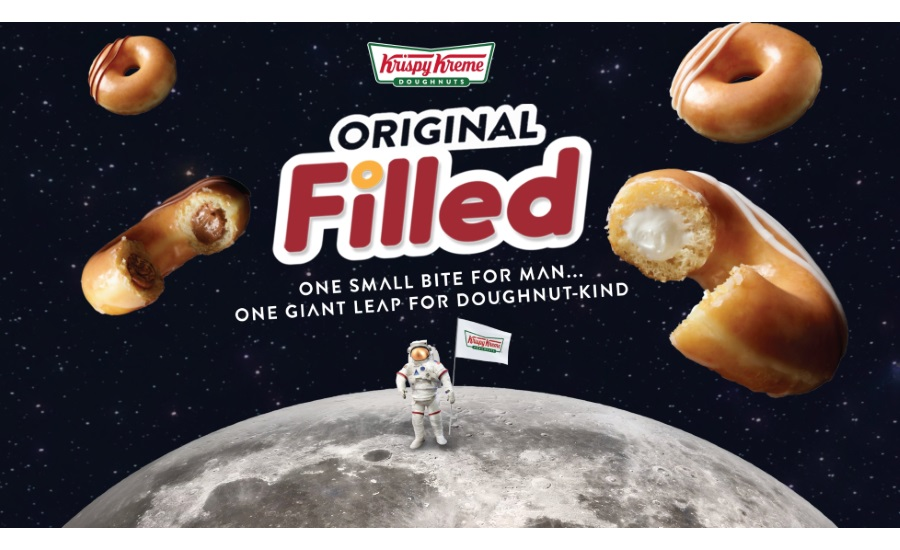 Krispy Kreme Original Filled Doughnuts