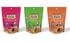 Michel et Augustin Launches Pouches with Individually Wrapped Cookies