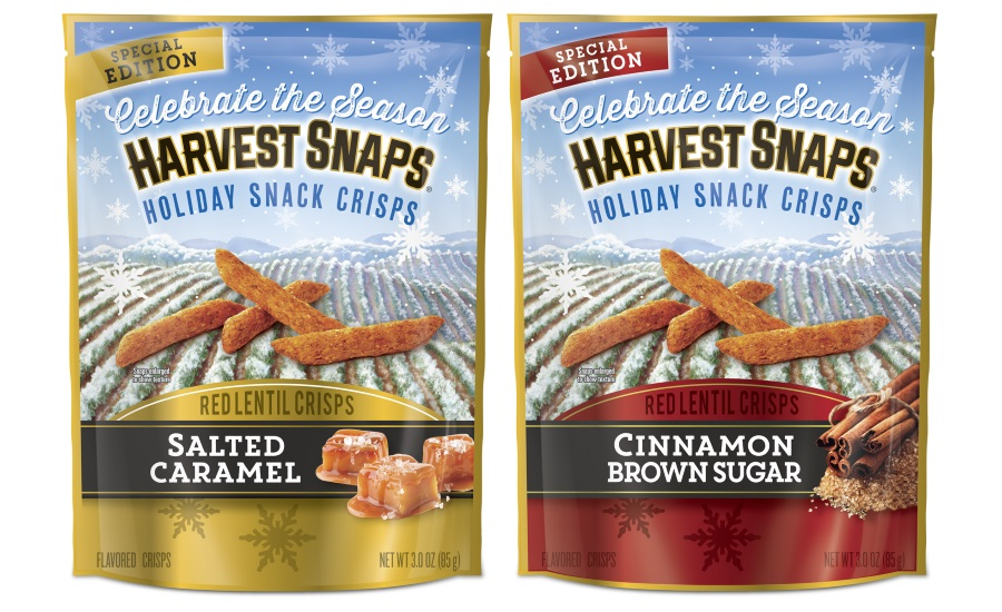 Harvest Snaps holiday flavors