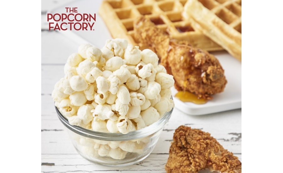The Popcorn Factory Chicken & Waffles popcorn