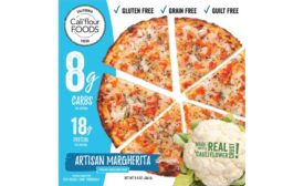 Califlour Frozen Topped Pizzas cauliflower crust