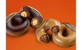 New Reese's Lovers Original Filled Doughnuts Krispy Kreme