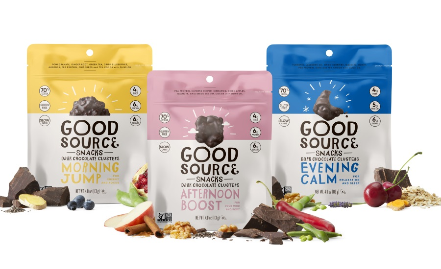 Good Source Foods all-natural dark chocolate and plant-based