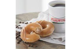 Krispy Kreme Original Filled Coffee Kreme Doughnut