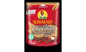 SunMaid chocolate covered raisins