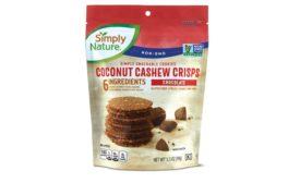 ALDI coconut cashew crisps