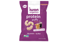 IWON Organics Nutless Butter + Jelly Puffs and the Tapatio® Jalapeño Sour Cream Stix