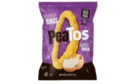 PeaTos crunchy onion rings