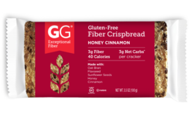 GG® Scandinavian Bran Crispbreads Gluten free crackers