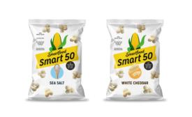 Smart50 popcorn by Smartfood