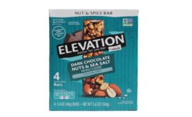 ALDI-exclusive Elevation by Millville Fruit & Nut Bars