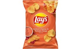 Lays grilled cheese and tomato soup