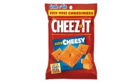 Cheez-It Extra Toasty and Extra Cheesy