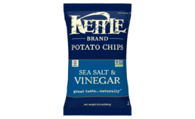 Kettle Brand using less plastic in packaging