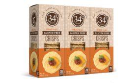 34 Degrees Unveils New Original Gluten Free Crisps