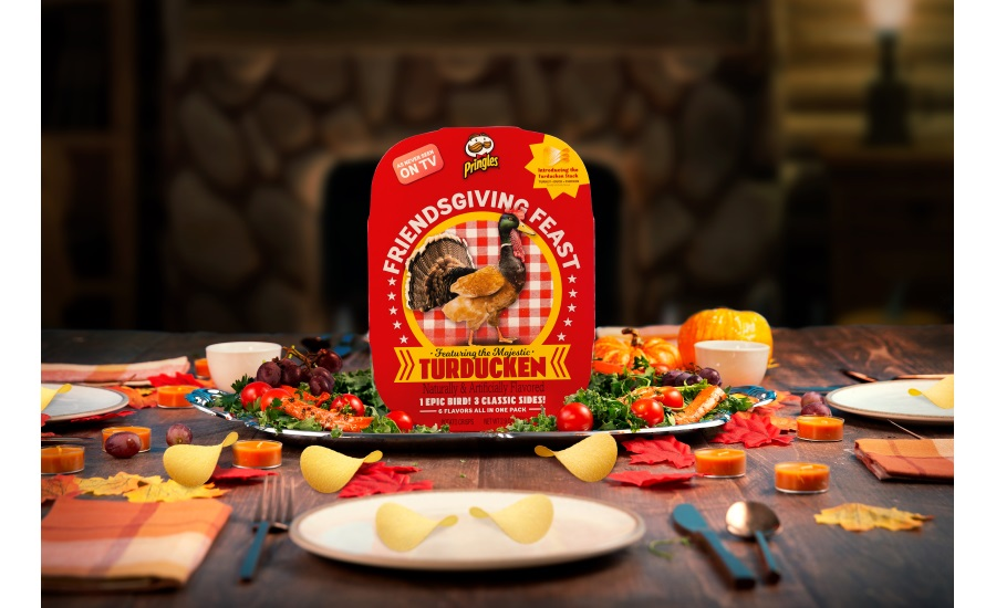 Pringles Thanksgiving kit with Turducken
