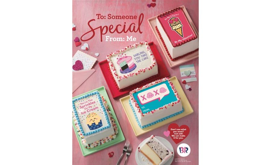 Baskin Robbins Valentine S Day Cakes 2020 02 06 Snack Food Wholesale Bakery