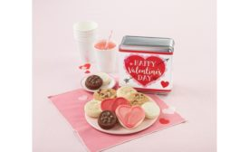 Cheryls Cookies Valentines Day tray