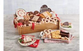 Harry & David Valentines Day bakery tray