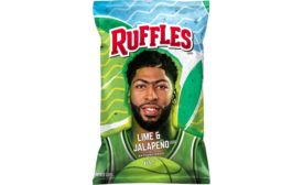 Ruffles Lime & Jalapeno chips