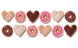 Dunkin Valentines Day doughnuts