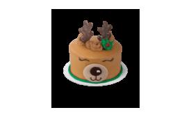 Baskin-Robbins Reindeer Cake