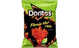 Doritos Flamin Hot Limon chips