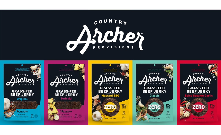 Country Archer Debuts First Line of Zero Sugar Jerky and Brand Refresh at Expo West