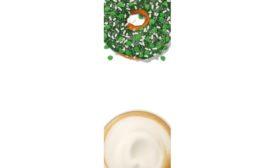Dunkin Lucky Shamrock Donut