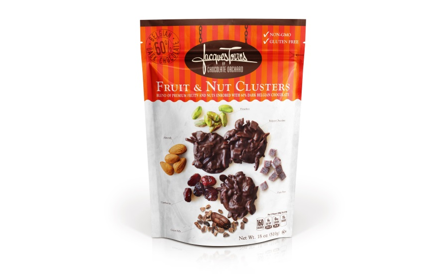 Nature's Garden Jacques Torres by Chocolate Orchard Fruit & Nut Clusters