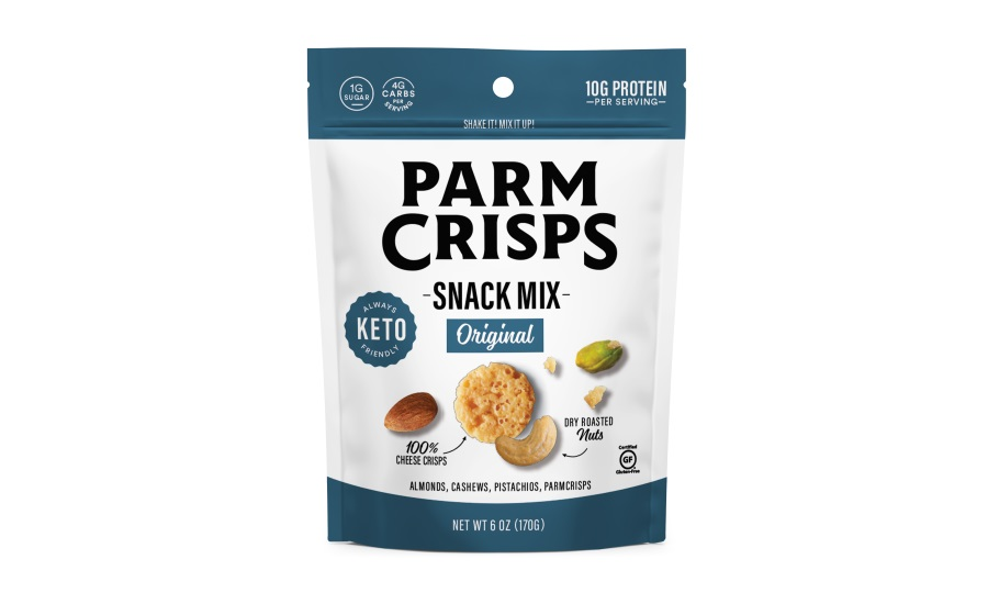 ParmCrisps launches protein-packed, keto snack mix