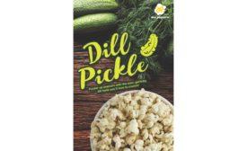 Doc Popcorn Dill Pickle flavor