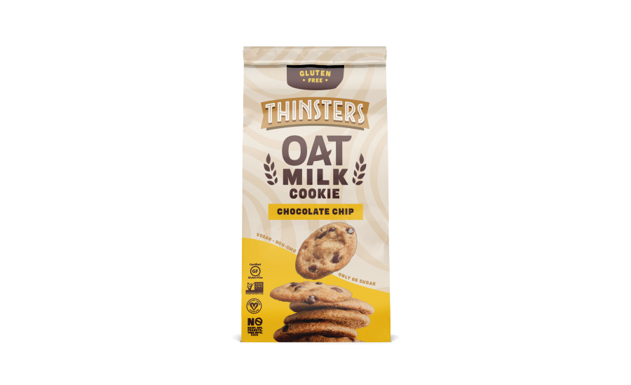 THINSTERS Launches First-Ever Oat Milk, Vegan Cookie