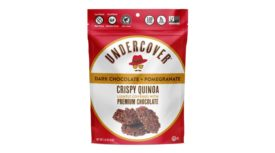 Undercover Snacks Dark Chocolate + Pomegranate flavor